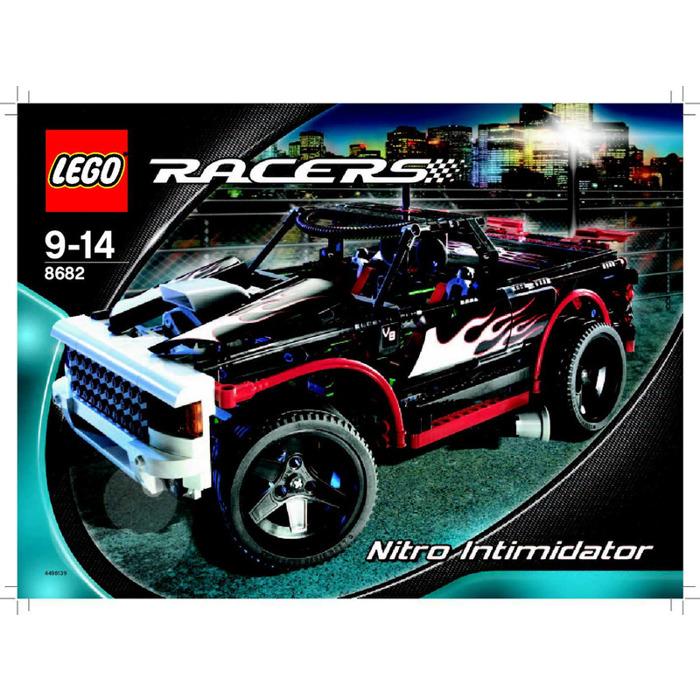 Lego Nitro Intimidator Set 8682 Instructions Brick Owl Lego