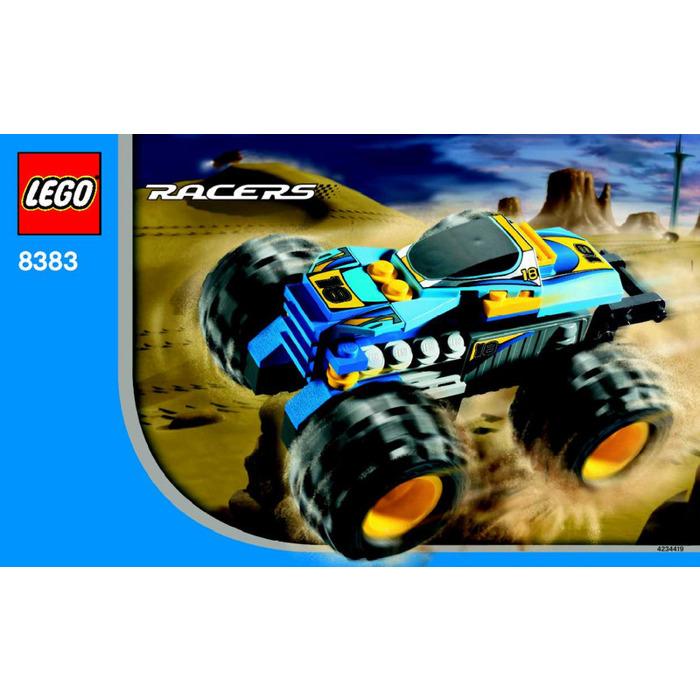 Lego Nitro Terminator Set 8383 Instructions Brick Owl Lego