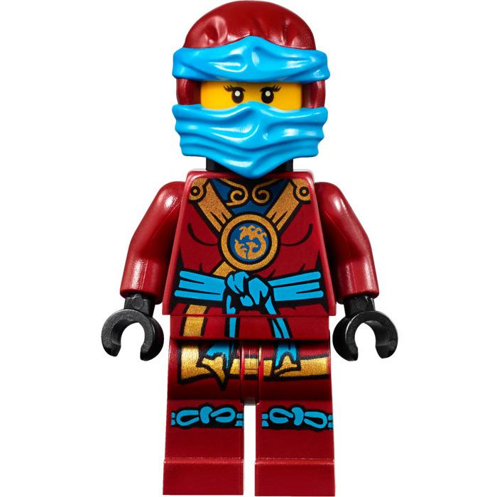 lego dark red nya minifig torso 76382 comes in  brick
