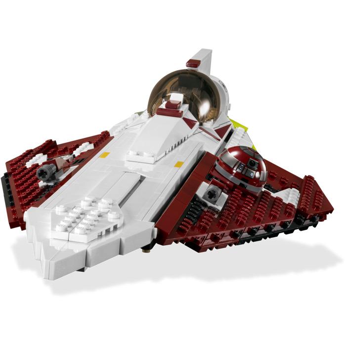 lego star wars obi wan jedi starfighter instructions