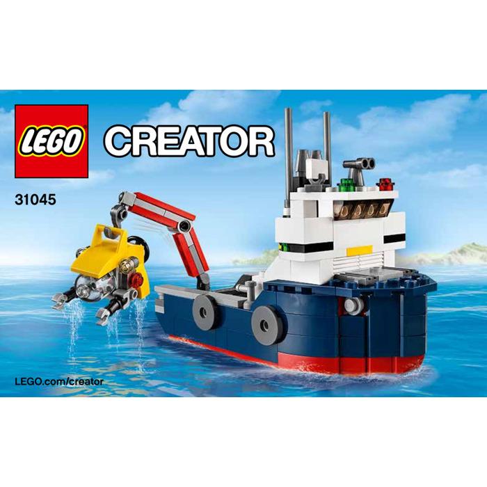 Lego Ocean Explorer Set 31045 Instructions Brick Owl Lego