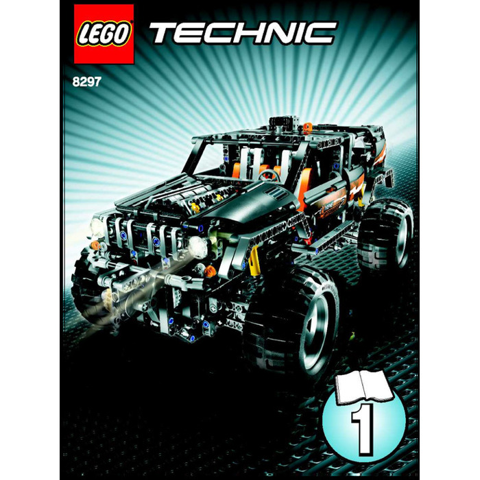 Lego Off Roader Set 8297 Instructions The Daily Brick