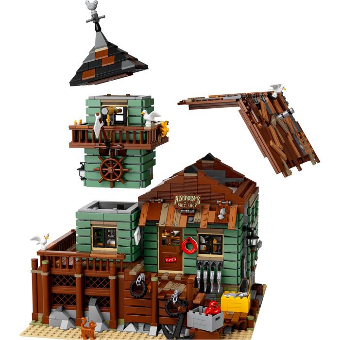 Lego old fishing store set 21310 brick owl lego for Lego old fishing store