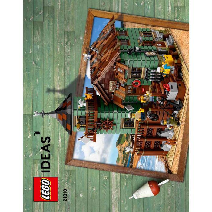 Lego old fishing store set 21310 instructions brick owl for Lego old fishing store