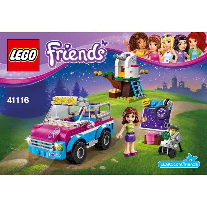 brick instructions lego friends