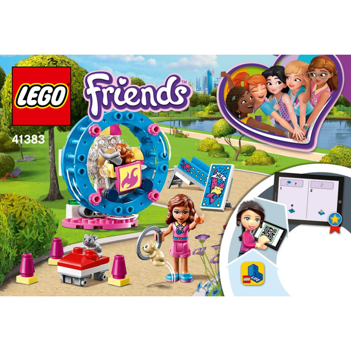 Olivia/'s Hamster Playground 41383 LEGO® Friends