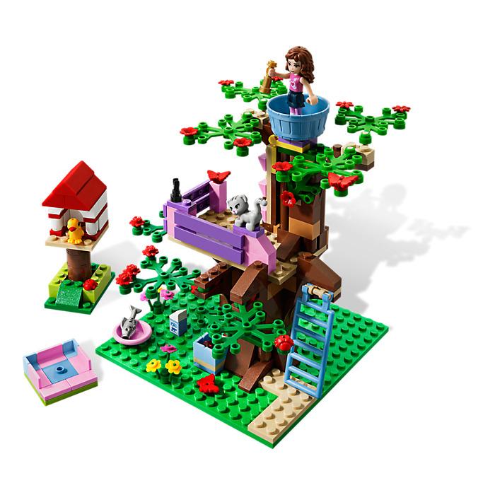 olivia house lego instructions