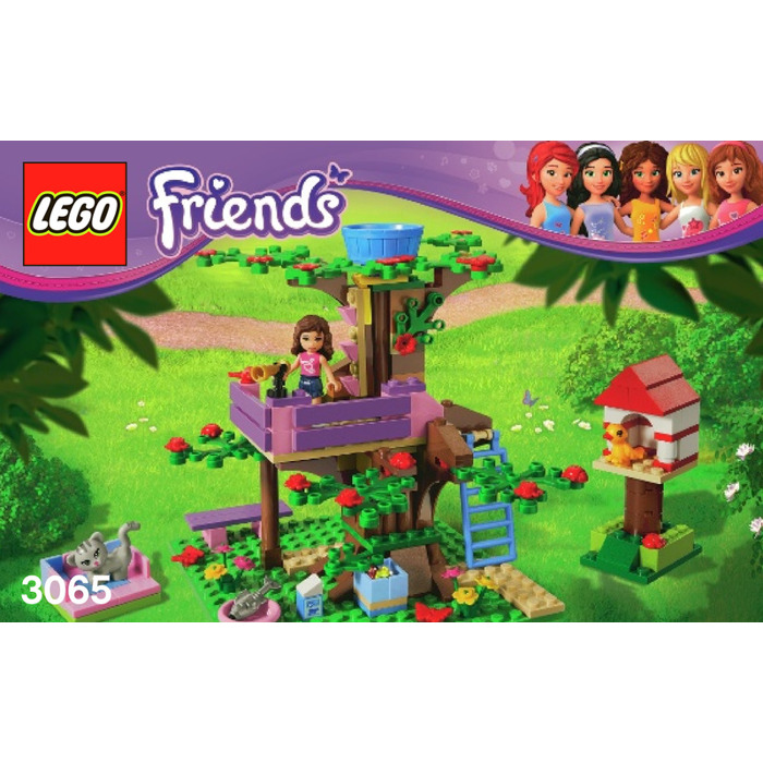 Lego Olivias Tree House Set 3065 Instructions Brick Owl Lego