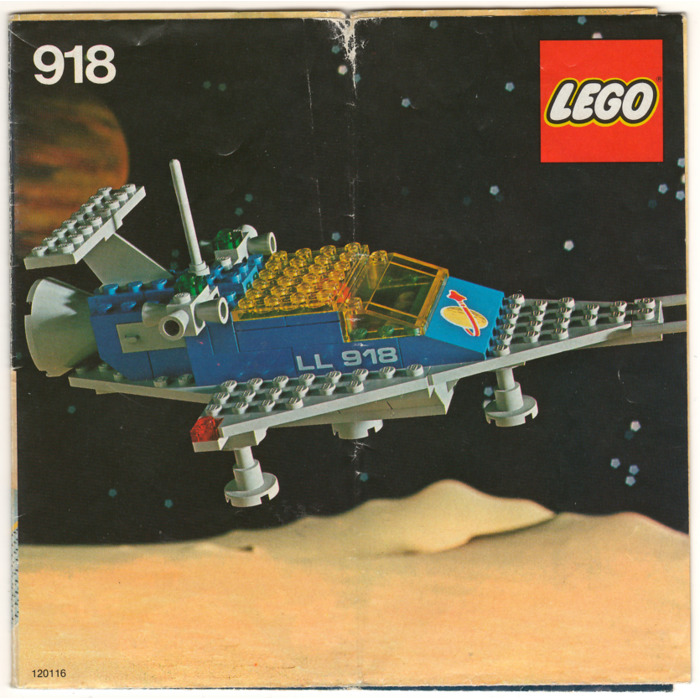 Lego One Man Space Ship Set 918 Instructions Brick Owl Lego