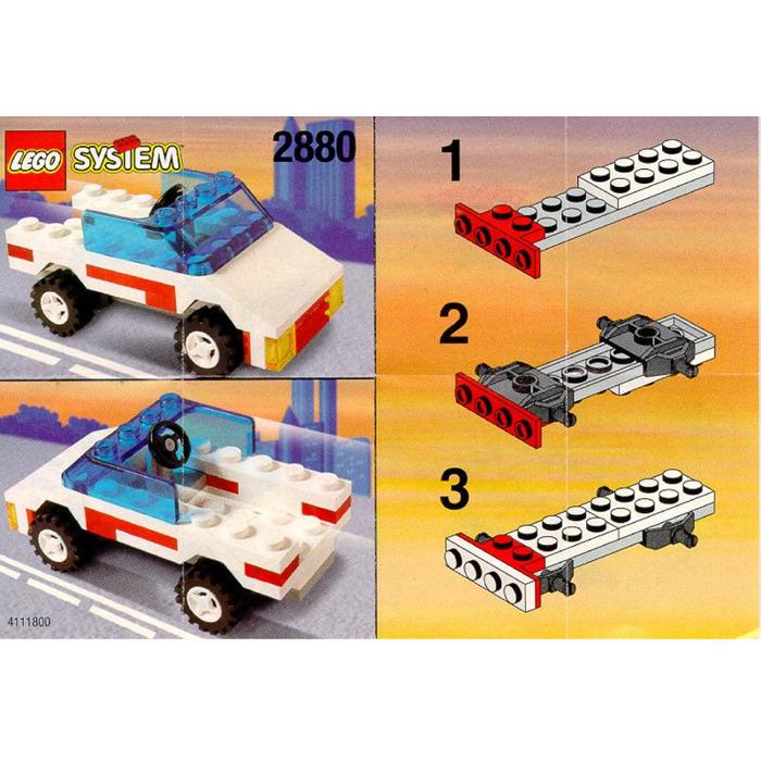 Lego Open Top Jeep Set 2880 Instructions Brick Owl Lego Marketplace