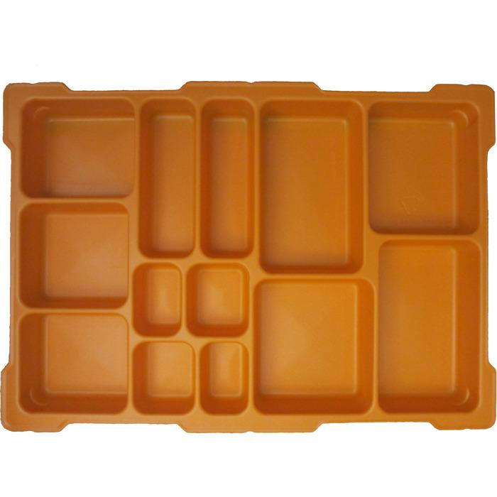 LEGO Orange Top Tray For Lego Education Storage Bin   13 Compartments  (54572)