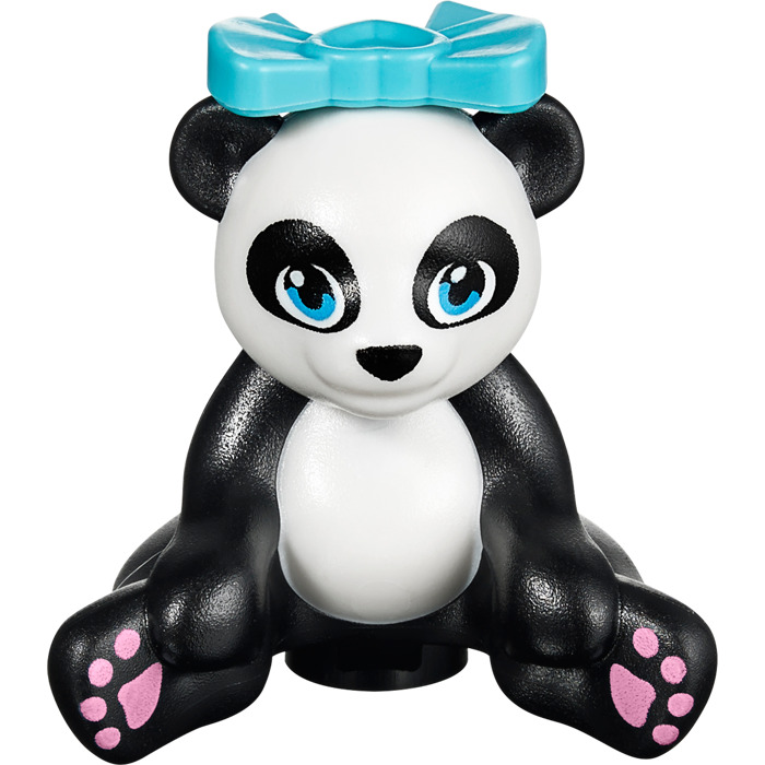 LEGO Mini Panda Teddy Bear (16203) Comes In | Brick Owl - LEGO ...