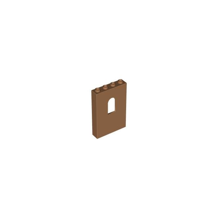 4 x Dark Grey Panel 1 x 4 x 5 with Window Lego Castle 60808