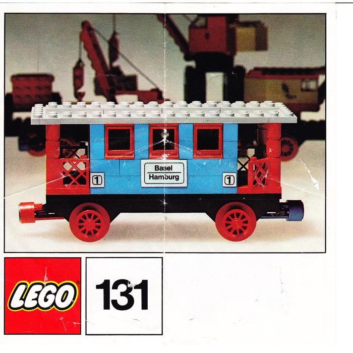 best selling uk availability buy online LEGO Passenger Coach Set 131 Instructions