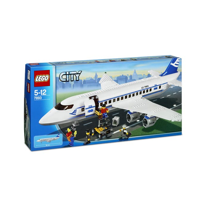 Lego Passenger Plane Set 7893 Packaging Brick Owl Lego Marketplace