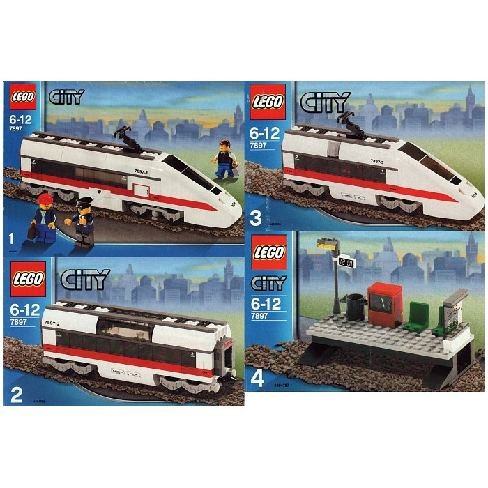 LEGO Passenger Train Set 7897 | Brick Owl - LEGO Marketplace
