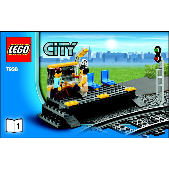 Lego City Passenger Train 7938 LEGO Passenger Train S...