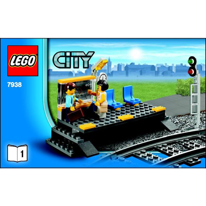 Lego Passenger Train Set 7938 Instructions Brick Owl Lego