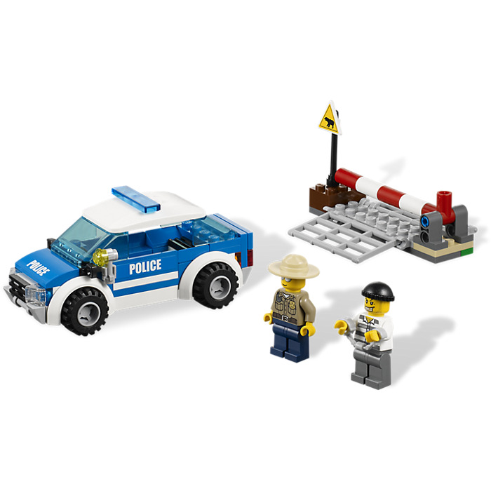 Lego Patrol Car Set 4436 Brick Owl Lego Marketplace