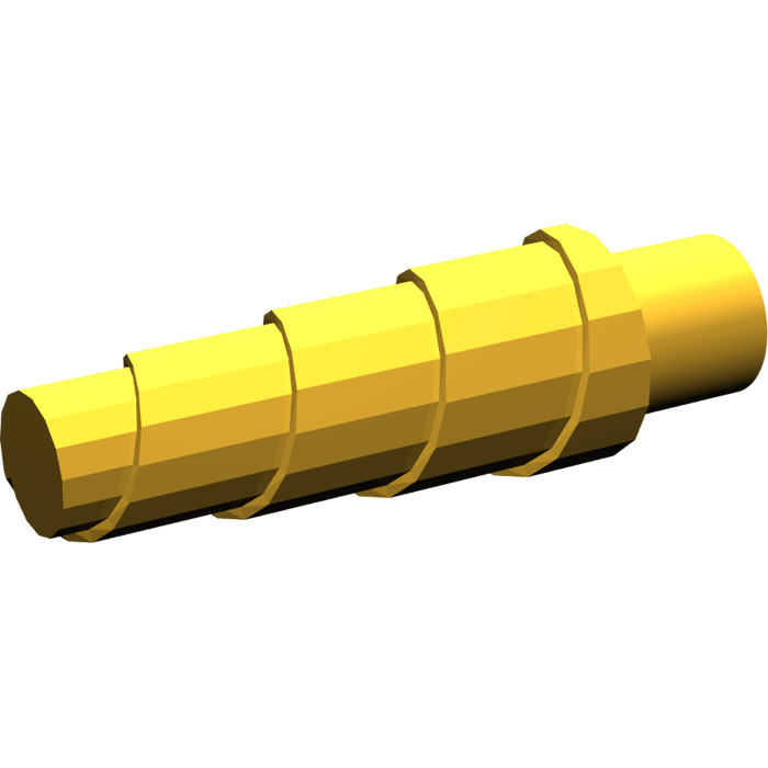unicorn Lego 89522 x2 corne or pearl gold horn