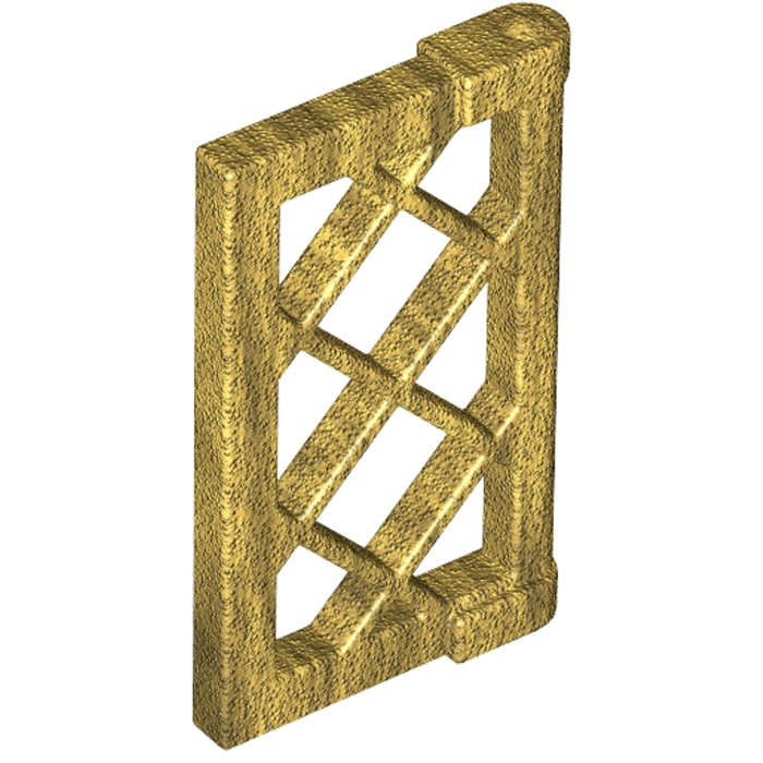Lego 4 x Fensterläden gold 1 x 2 x 2 2//3 Pane Pearl Gold NEU//NEW - 30046
