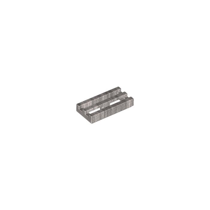 10x Grille // Tile 30244 51815 NEUF Blanc // White Lego 2412b modified 1x2