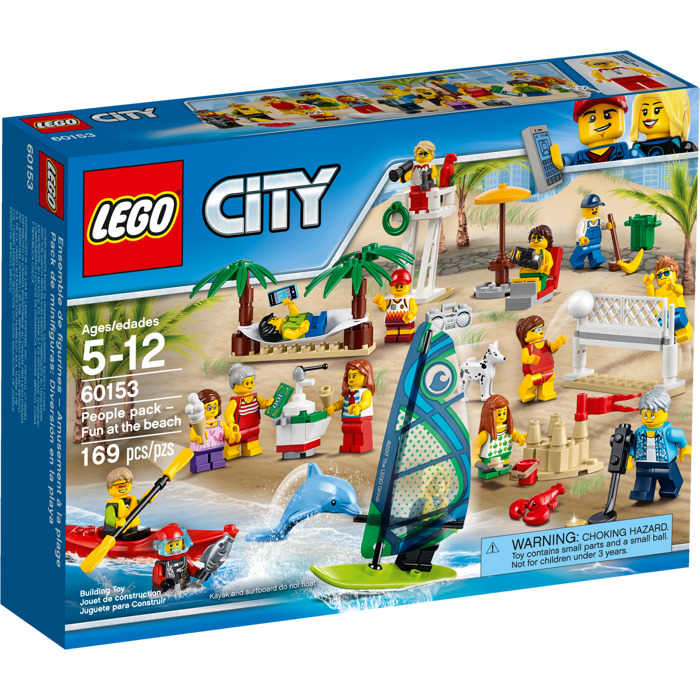 Lego people pack fun at the beach set 60153 brick owl - Image lego city ...