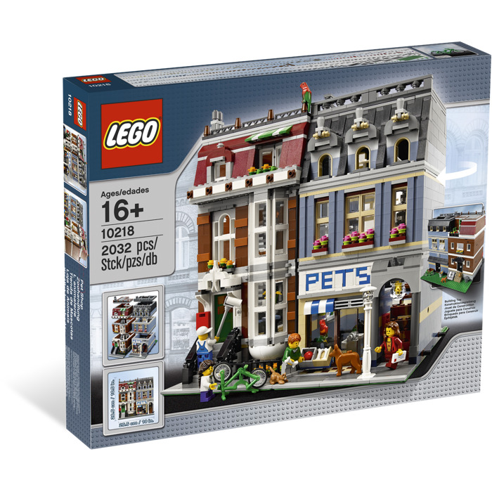 lego pet shop set 10218 brick owl lego marketplace. Black Bedroom Furniture Sets. Home Design Ideas