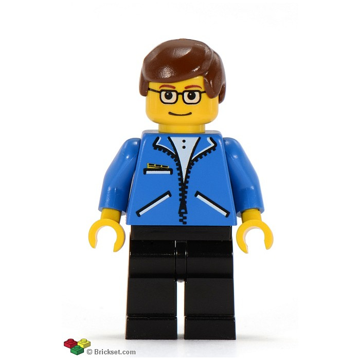 Lego Peter Parker With Blue Jacket Minifigure Inventory