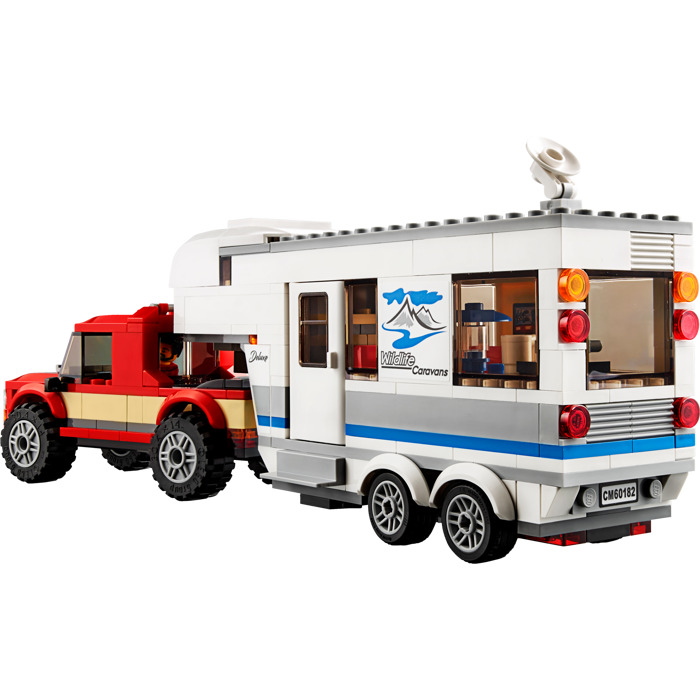 Lego City Pickup /& Caravan 60182 NEW