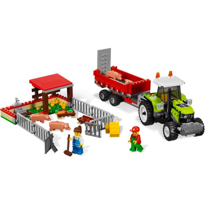Lego Pig Farm Tractor Set 7684 Brick Owl Lego Marketplace