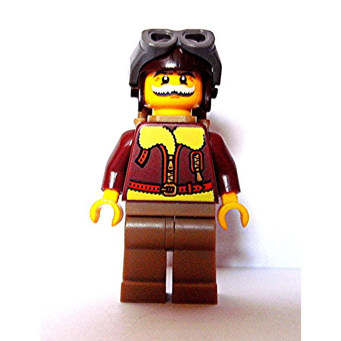 LEGO PART 2524 MINI FIGURE REDDISH BROWN BACKPACK