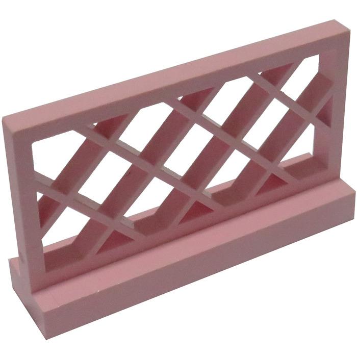 x2 LEGO 3185 Fence 1 x 4 x 2