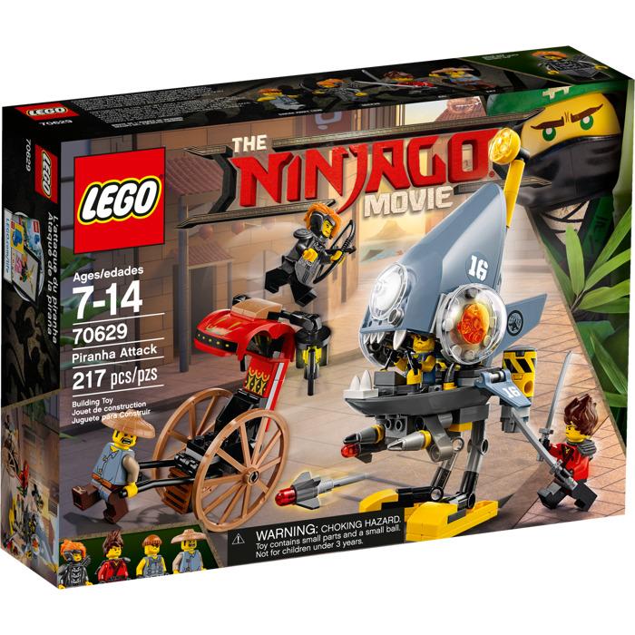 Lego piranha attack set 70629 brick owl lego marketplace - Lego ninjago 4 ...