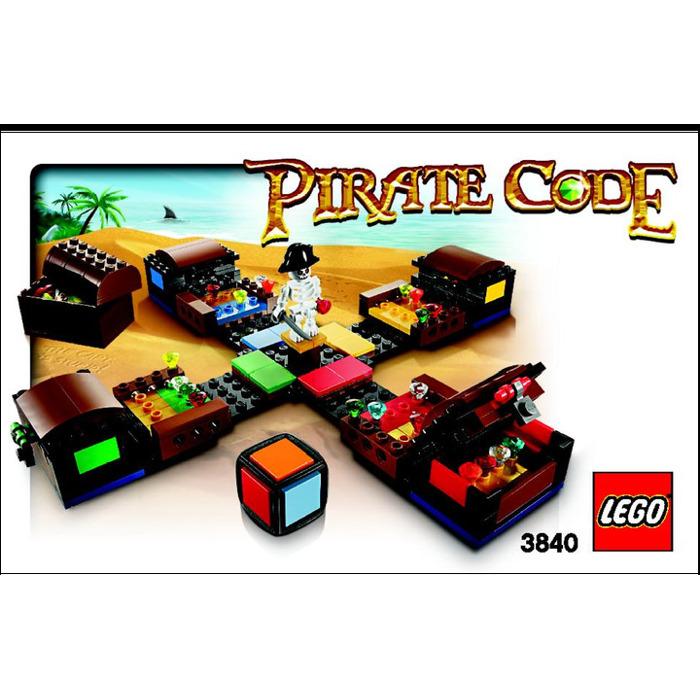 lego pirate code 3840 instructions - Lego Pirate