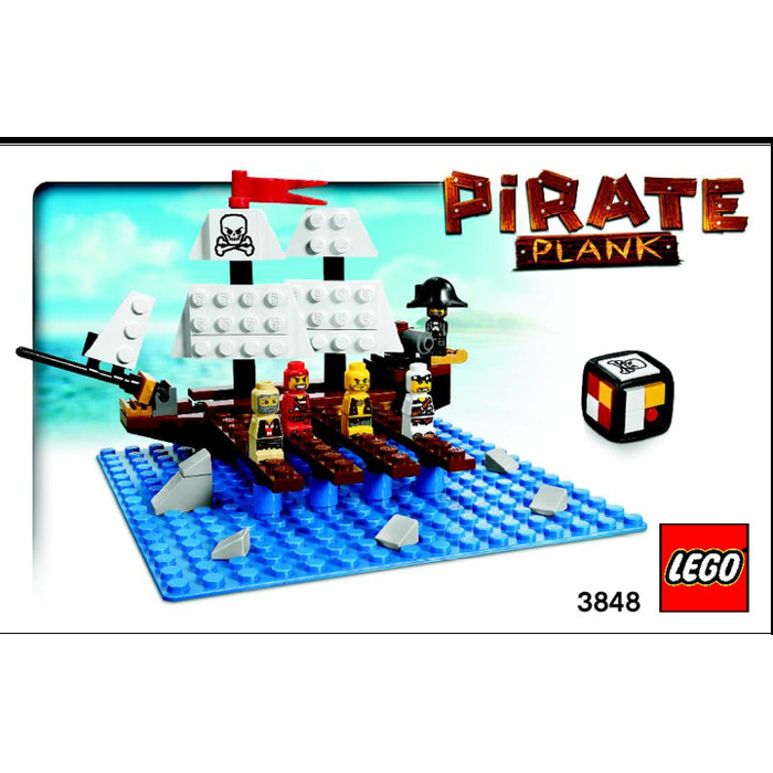 lego pirate plank 3848 instructions - Lego Pirate