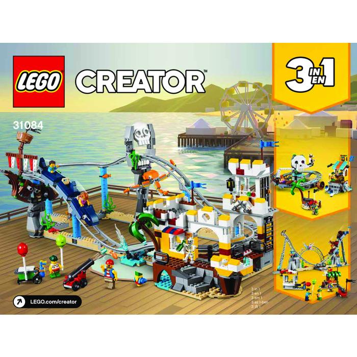 lego roller coaster instructions