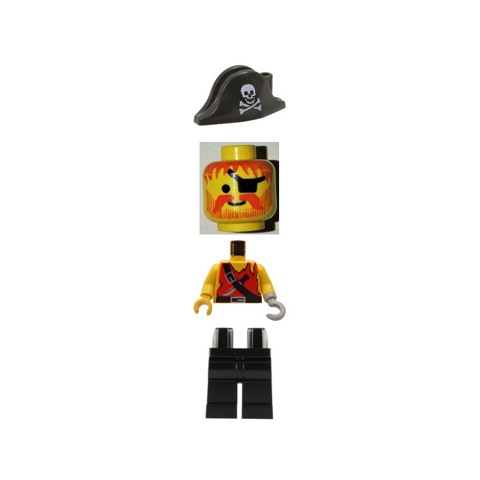 Lego Pirates Torso 973 Comes In Brick Owl Lego Marketplace