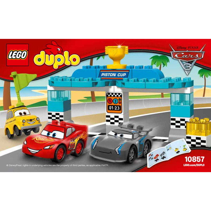 Lego Piston Cup Race Set 10857 Instructions Brick Owl Lego