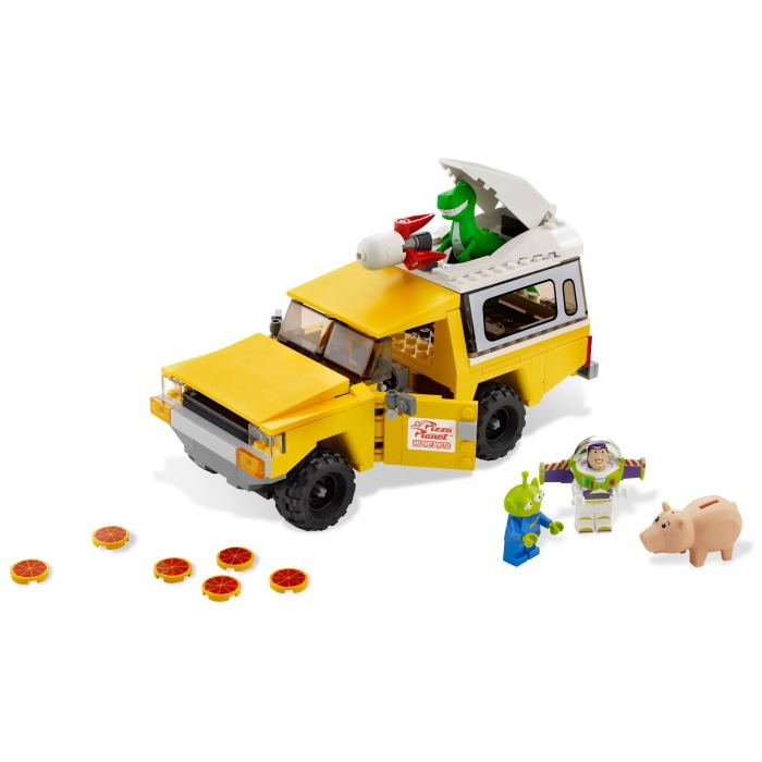 lego pizza truck instructions