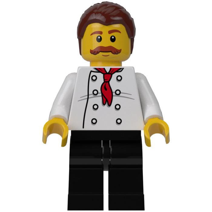 Lego Pizza Van Chef Minifigure Inventory Brick Owl