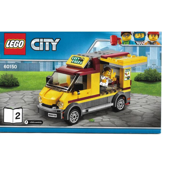 Lego Pizza Van Set 60150 Instructions