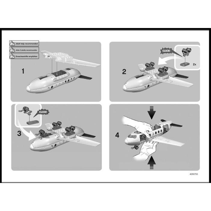 Lego Plane Set 7843 Instructions Brick Owl Lego Marketplace