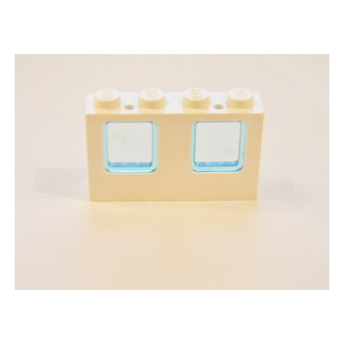 Lego White Window 1 x 4 x 2 Airplane Ship Trans Black Glass Lot of 20 Pcs