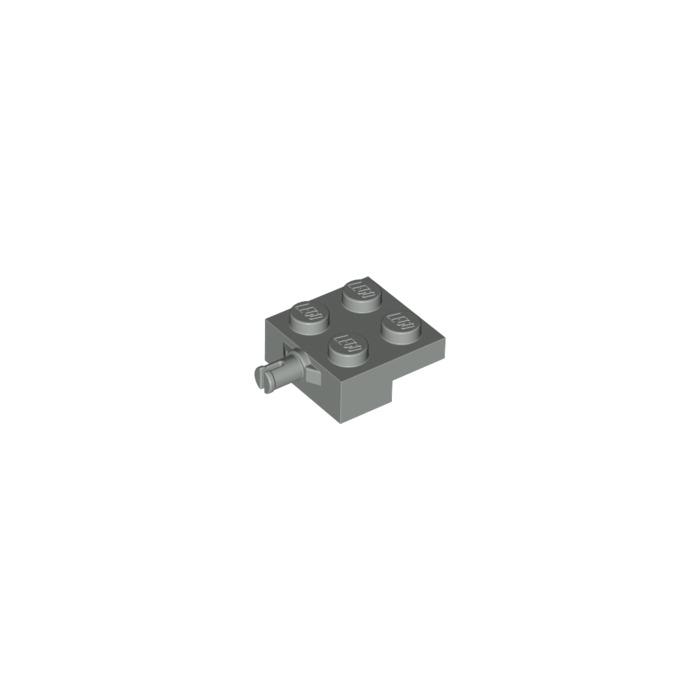 black Holder Wheel 4 x LEGO 10313 Plate Support Flat 2x2 NEW