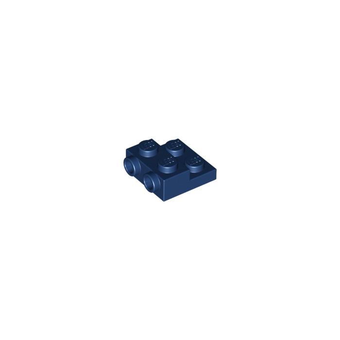 Mod 1 x 2 x 1 2-3 Studs on 1 Side Light Bluish Gray 15 NEW LEGO Brick