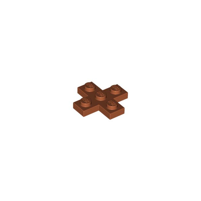 Black Lego Part 2 X 15397 Brick 3x3 Cross Plate