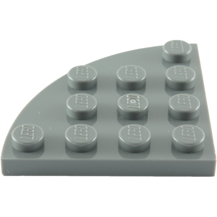 LEGO 4x4 wedged plate cut corner Packs of 4 Part 30565 choose your colour!