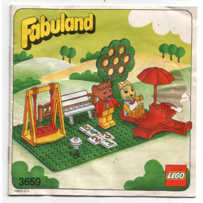 LEGO Playground Set 3659 Instructions