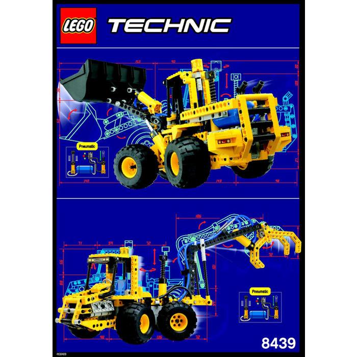 lego-pneumatic-front-end-loader-set-8459